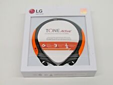 6ed002679b2 item 1 LG HBS-850 Tone Active Premium Wireless Stereo Neckband Bluetooth  Headset Orange -LG HBS-850 Tone Active Premium Wireless Stereo Neckband  Bluetooth ...