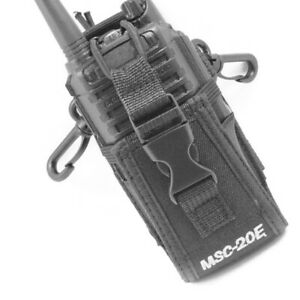 New-Walkie-Talkie-Pouch-Case-Holder-Radio-Nylon-Bag-For-BAOFENG-UV-5R-Kenwood