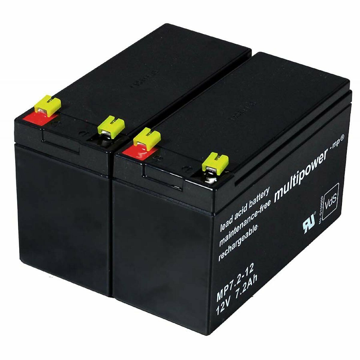 Powery Ersatzakku für USV APC RBC5 12V 7,2Ah 86Wh Lead-Acid Schwarz | Feinbearbeitung