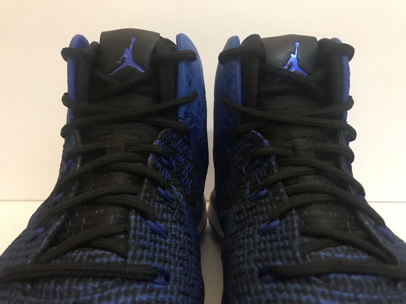 6dcef3816d44 ... Air Air Air Jordan XXXI Basketball Shoes Black Game Royal 845037-007 Sz  ...