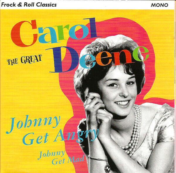 Carol Deene Johnny Get Angry (1996) 26-track CD Neu / Verpackt