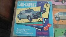 Vintage Spears Childrens Card Game Car-Capers Boxed Capri Rolls Royce Lots More