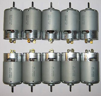 1 V per 500 RPM 6 V 5X Mabuchi 555 DC Motor Wind // Water Turbine Generator