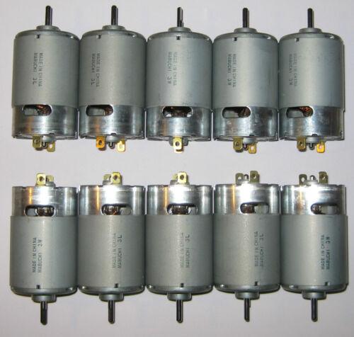 12V Wind // Water Turbine Generator 1V per 500RPM 10 X Mabuchi 555 DC Motor