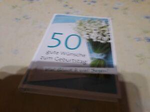 50 gute Wünsche zum Geburtstag (Taschenbuch) - Nürnberg, Deutschland - 50 gute Wünsche zum Geburtstag (Taschenbuch) - Nürnberg, Deutschland
