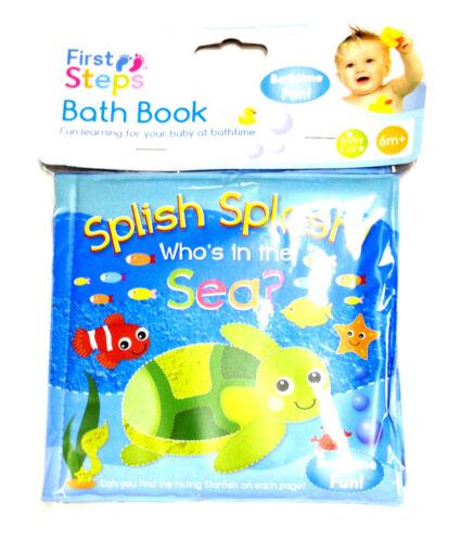 Bain pour bébés livres couché plastique jouets amusant enfants enfant bain temps jouer de l/'apprentissage des jouets