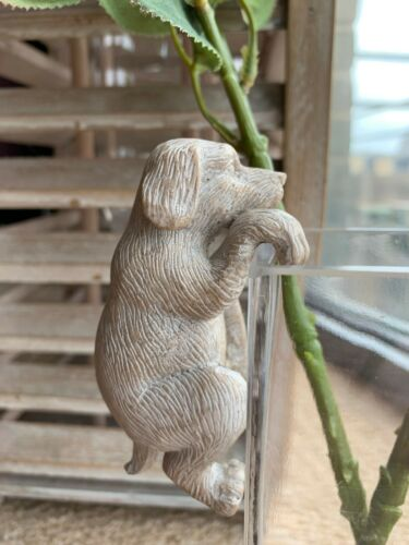 Dog Mouse Rabbit Pot Hanger Garden Ornament Deco by Parlane