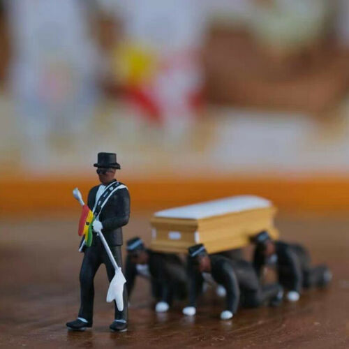 Cosplay Ghana Dancing Pallbearers Coffin Dance Figure Action Funeral Dance TeKTP