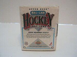 Upper-Deck-1991-92-High-Series-NHL-Hockey-Factory-Sealed-Set-200-Player-Cards