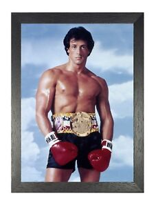 Details About Rocky Balboa 8 Sylvester Stallone Motivation Boxing Movie Film Photo Poster