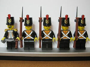 Lego PIRATES NAPOLEONIC WARS PRUSSIAN GRENADIER Infantry Soldiers MINIFIGS