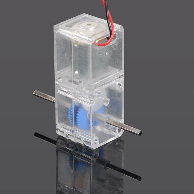 NEW 130 DC1.5-6V 1:94 Geared motor //w Box shell Case for DIY smart Robot Car