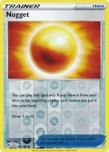 Pokemon TCG Rebel Clash 162//192 Nugget Card
