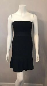 7c9aaa6a76 Image is loading NWT-White-House-Black-Market-black-Lace-Strapless-