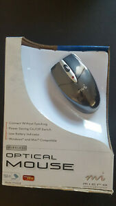 Micro Innovations Wireless Optical USB Mouse - PD960P (Open Box)