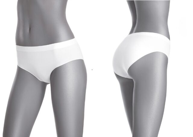 3er Pack Pantys GATTA Unterwäsche BAUMWOLLE NAHTLOSE Slip Cotton Mini Bikini