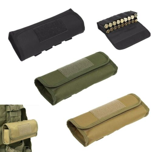Details about  /Tactical 18 Round 12GA Shotgun Shell Ammo Magazine Pouch Molle Mag Pouch Holder