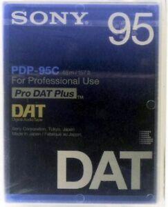 Nur 1 X Bespielt Elegante Form Pro Dat Plus 5 Stück Sony Dat Kassetten Band Pdp-95c