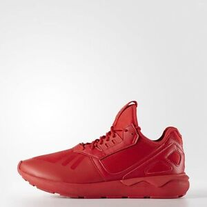 New-adidas-Originals-TUBULAR-Runner-Scarlet-Red-Q16464-Monotone-x1