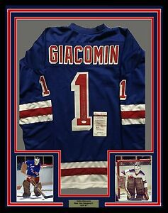 Image is loading FRAMED-Autographed-Signed-EDDIE-GIACOMIN-33x42-NY-Rangers- b830db776