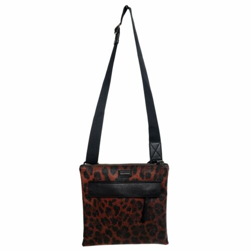 Verstellbarer Gabbana Herren Umhängetasche Leder Leopardenmuster Dolce Gurt dzqxwtO