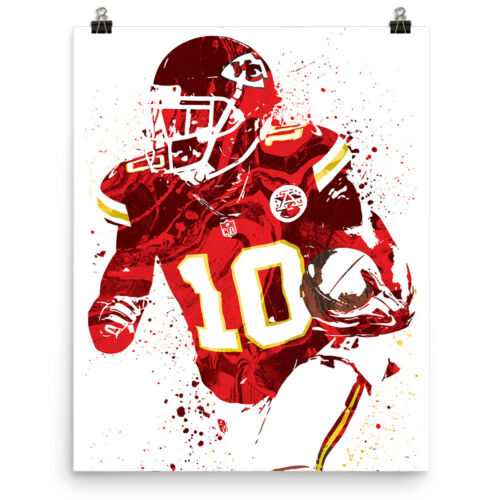 Tyreek Hill Kansas City Chiefs Poster FREE US SHIPPING