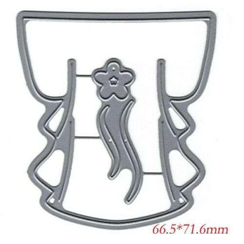 Chinese Style Clothes Cutting Dies Stencil Scrapbooking Embossing DIY HandCrafts