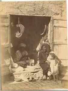 Algerie-Scene-de-rue-Vintage-albumen-print-Vintage-Algeria-Tirage-albumine