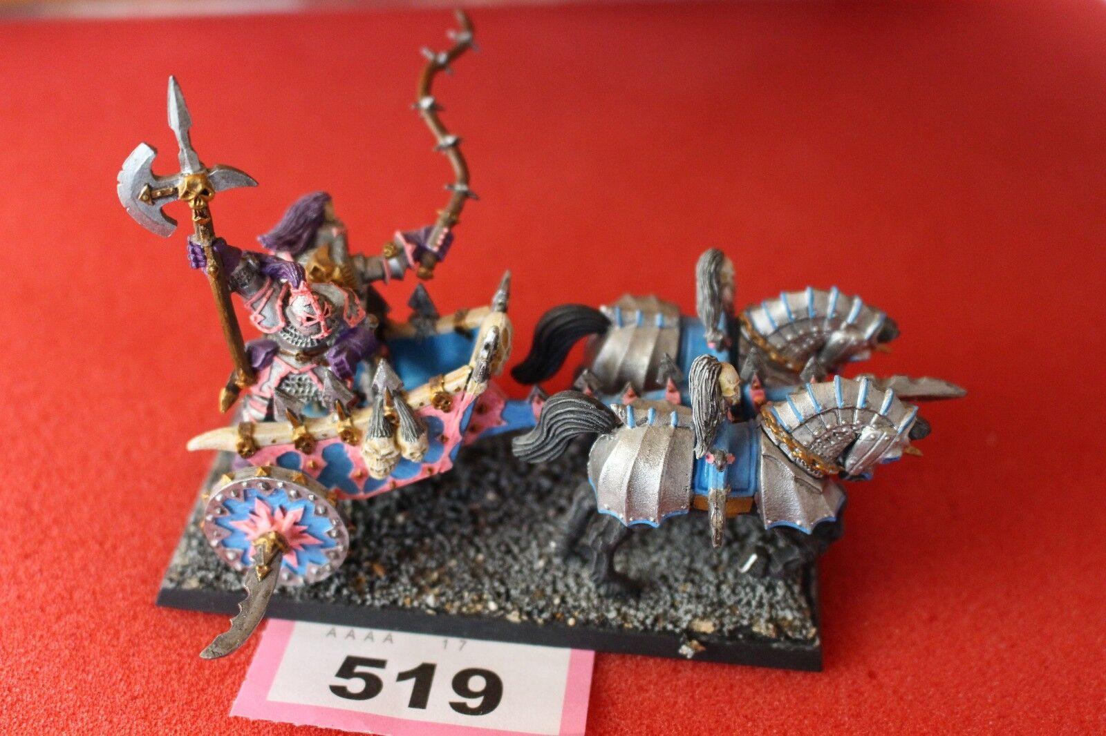 Games Workshop Warhammer Chaos Warriors Chariot Fantasy Metal Painted Slaanesh
