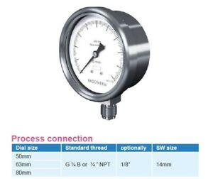 AMPMECH-BADOTHERM-GAUGE-PRESSURE-BDT18-D-63MM-0-2-5BAR