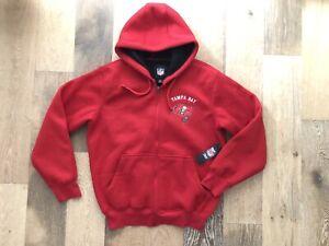 Image is loading GIII-NFL-Tampa-Bay-Buccaneers-Red-Hoodie-Jacket- 30103f39d