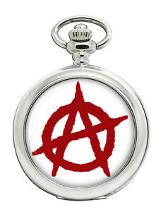Anarchy-039-ein-039-Symbol-Taschenuhr
