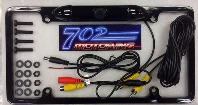 FOR PIONEER AVH-P3200DVD NIGHT VISION CHROME FRAME COLOR REAR VIEW CAMERA