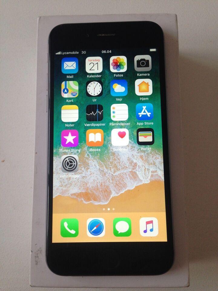 iPhone 5S, 64 GB, sort