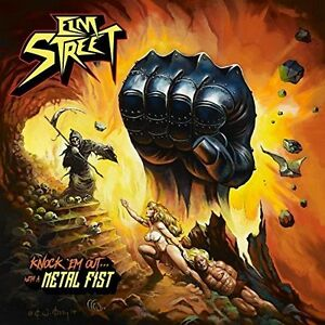 Elm-Street-Knock-039-em-Out-With-A-Metal-Fist-New-CD
