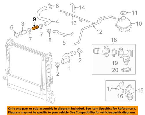 GM OEM Radiator-Lower Hose Connector 23333192