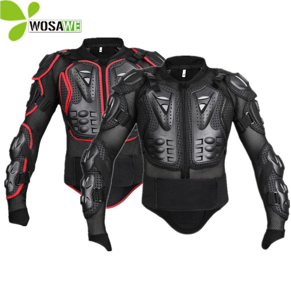 Wosawe Deportes Mangas Malla Hombres chaquetas de snowboard Moto Ciclismo Rompevientos atrás