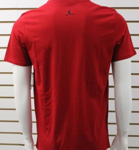 Jordan Men/'s Air Jordan Flight SS Graphic Tee Red//White 725019687 New With Tag