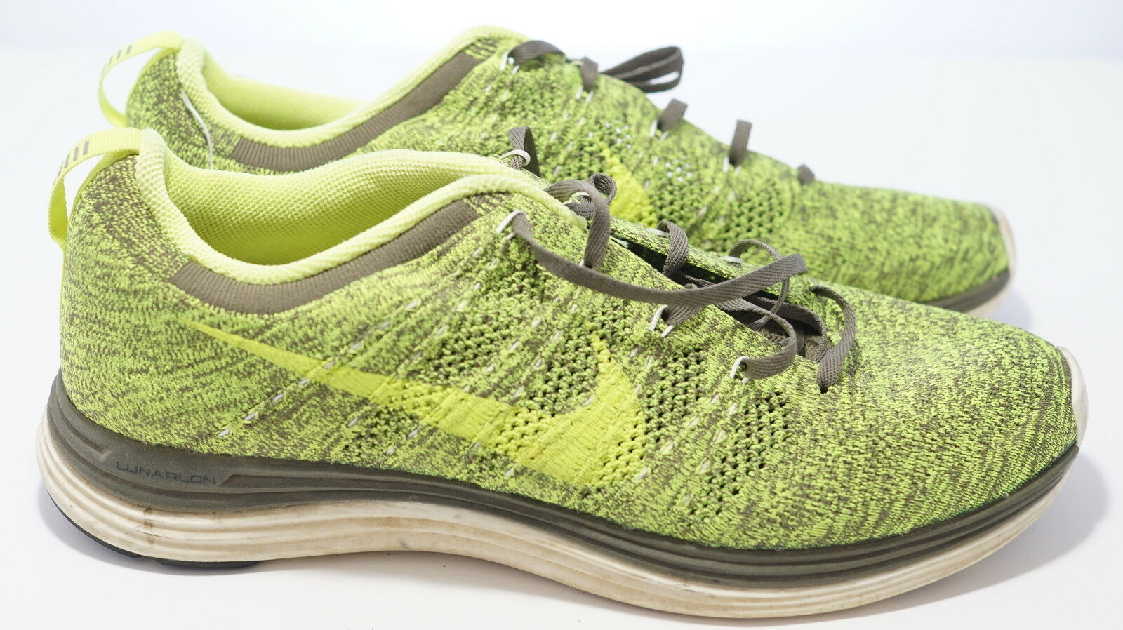 Men's Nike Flyknit Lunar 1 running shoes sneakers size 10.5 Cheap and beautiful fashion