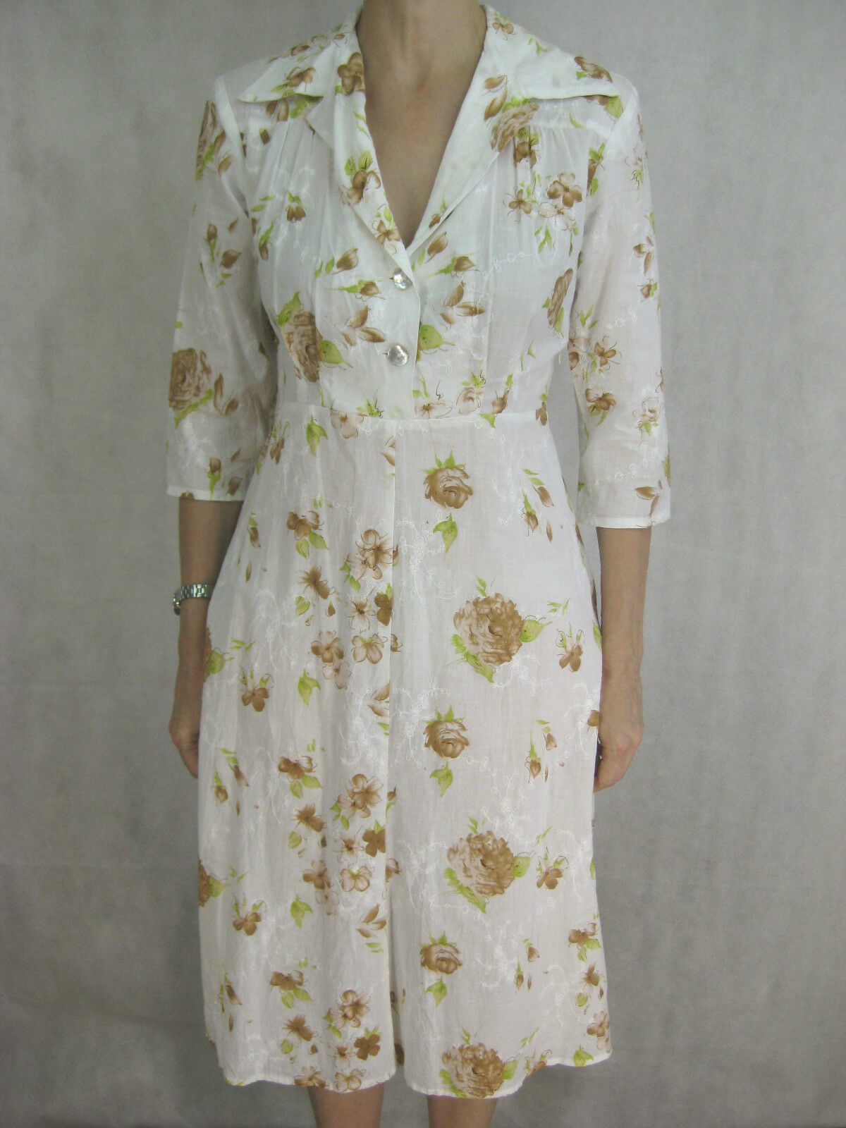 Jiva Größe 1 S Cotton Tea Designer Dress