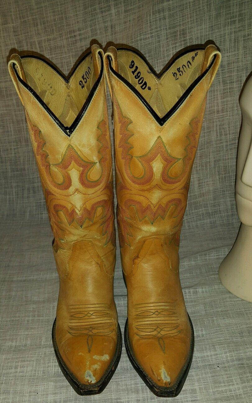Vintage Rios of Mercedes western cowboy boots women size 6.5