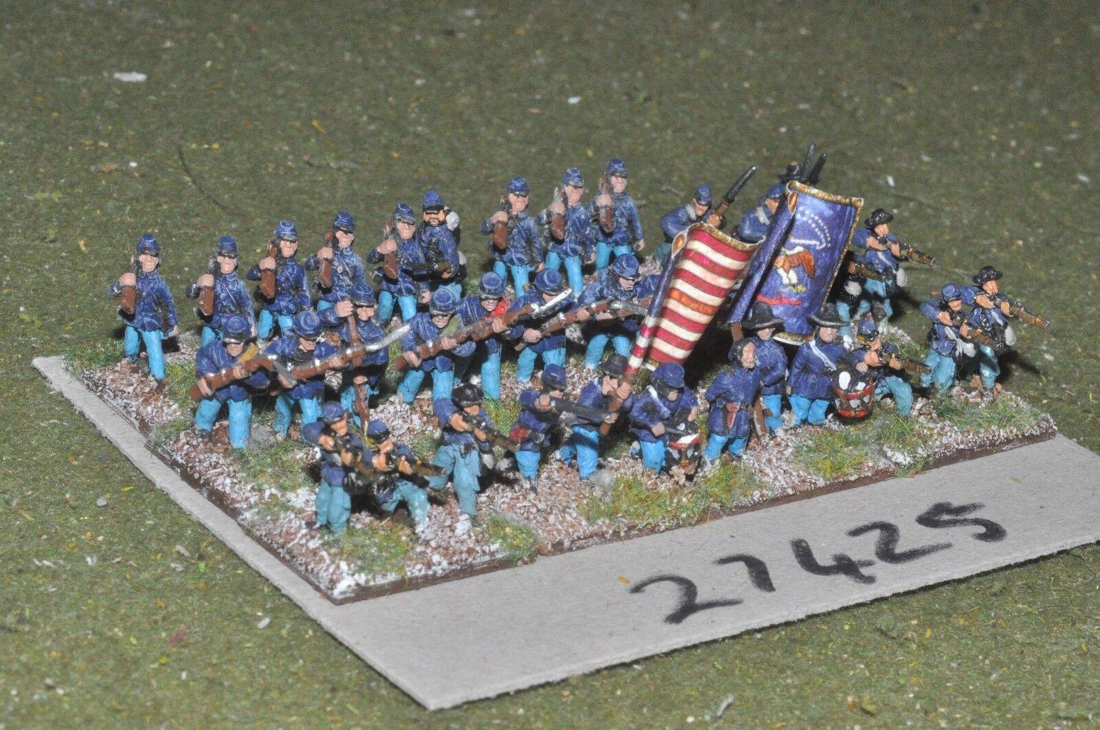 15mm ACW   union - regiment 36 figures - inf (27425)