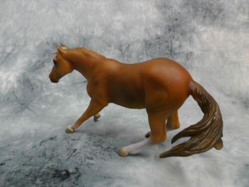 Model Horse #88585 Figurine Toy Quarter Horse Stallion Sorrel CollectA NIP