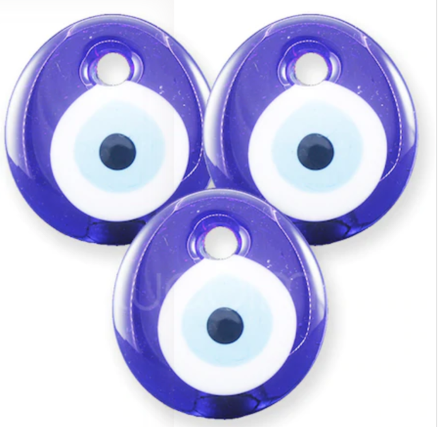Turkish Perforated Evil Eye,Nazar,Glass Lucky Hangings ...