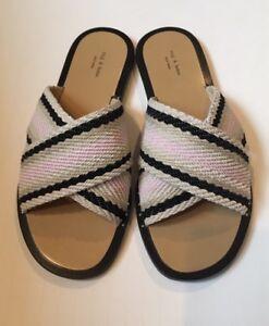 b15592d3a4de Women s Rag   Bone Keaton Crisscross Flat Sandal In Pink Size 36.5 ...