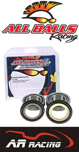 All Balls Tapered Steering Head Bearings Seals for Yamaha WR 200 D//E//F 92-94
