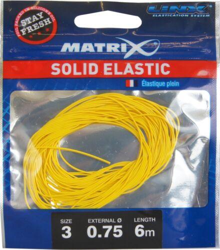 Fox Matrix Stay Fresh Elastic 6m Gummi für S Gummizug für Kopfrute 0,67€//1m