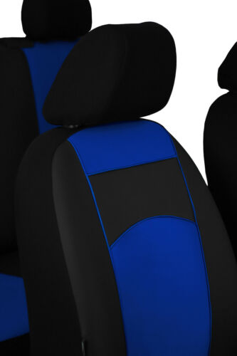 Tailored Eco-Leather Seat Covers For VAUXHALL VIVARO 6 seater 2001-2014
