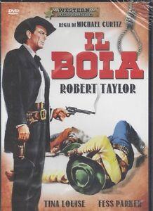 Dvd-IL-BOIA-THE-HANGMAN-con-Robert-Taylor-nuovo-1959