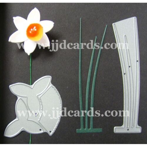 Britannia muere-medio Narciso /& Hojas-Cardmaking